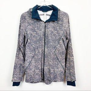 lululemon | Runaway Rain Wind Jacket Pebble Print